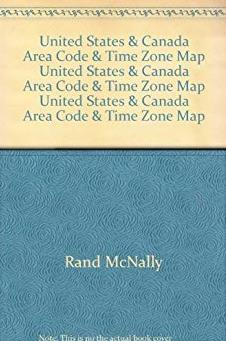 United States & Canada Area Code & Time Zone Map United States &amp ...
