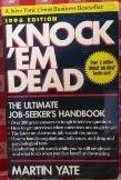 Knock 'Em Dead 1996: The Ultimate Job Seeker's Handbook (Paper)