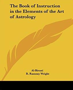 The Book of Instruction in the Elements of the Art of Astrology