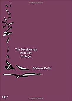 The Development from Kant to Hegel