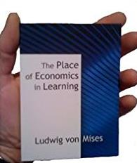 Place of Economics in Learning