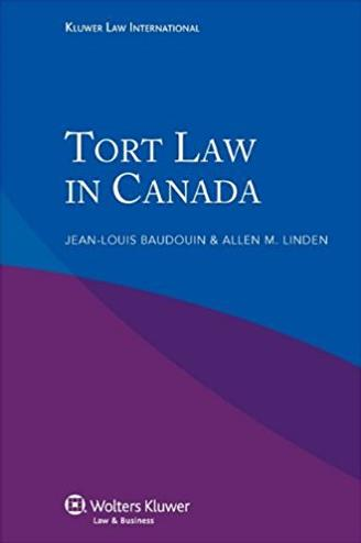 Tort Law in Canada