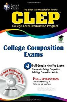 CLEP College Composition & College Composition Modular w/CD-ROM (CLEP T ...