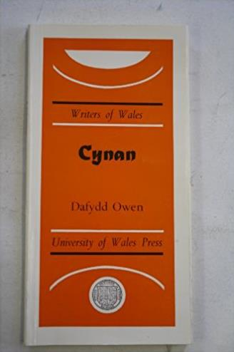 Cynan (Writers of Wales) (Welsh Edition)