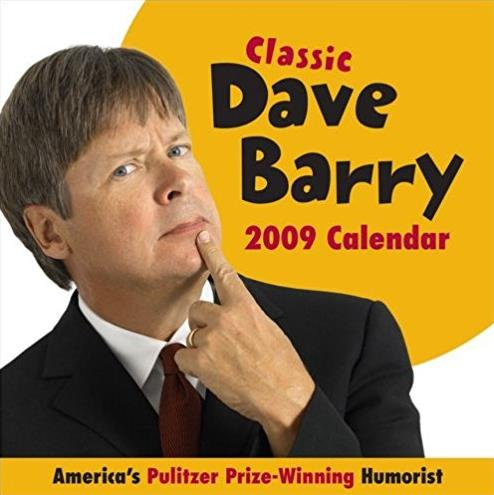 Dave Barry: 2009 Day-to-Day Calendar