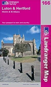 Luton and Hertford, Hitchin and St.Albans (Landranger Maps)