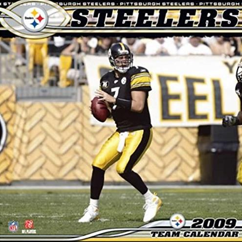 Pittsburgh Steelers 2009  Wall Calendar