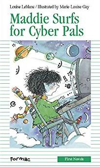Maddie Surfs for Cyber-Pals (Formac First Novels)