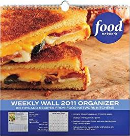 Food Network: 2011 Weekly Wall Calendar