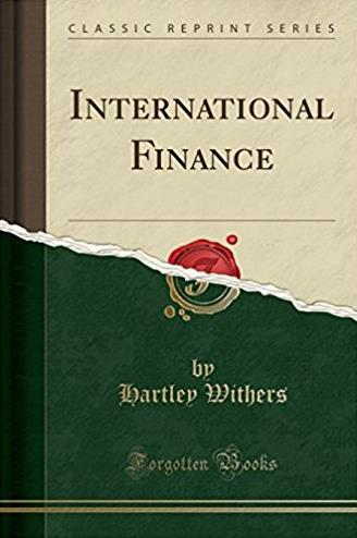 International Finance (Classic Reprint)
