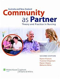 Australia &amp New Zealand Community As Partner: Theory and Practice in ...