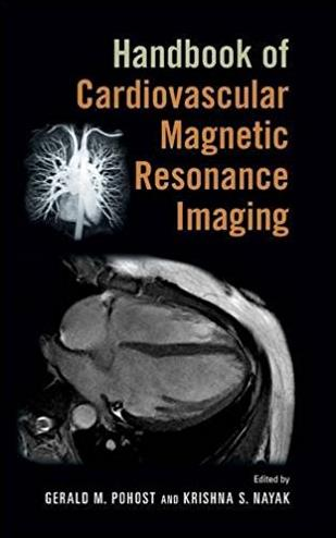 Handbook of Cardiovascular Magnetic Resonance Imaging