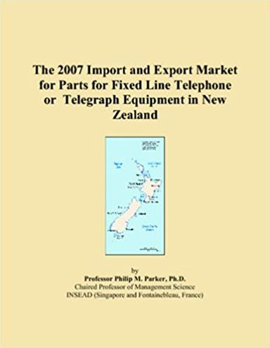 The 2007 Import and Export Market for Parts for Fixed Line Telephone or Telegraph Equipment in New Zealand